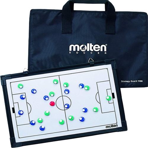 Magnetic board with bag