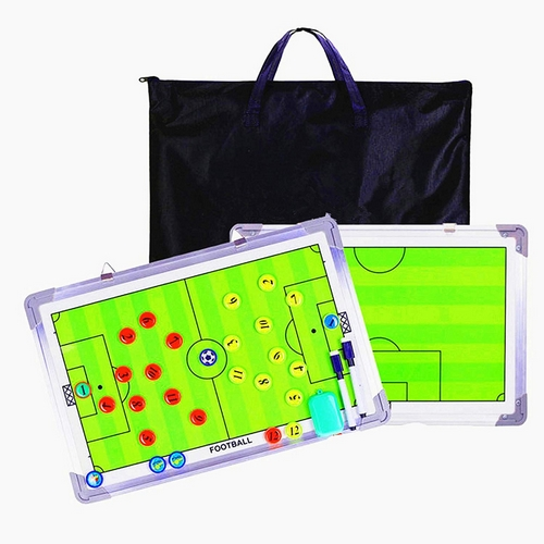 Double magnetic board with bag