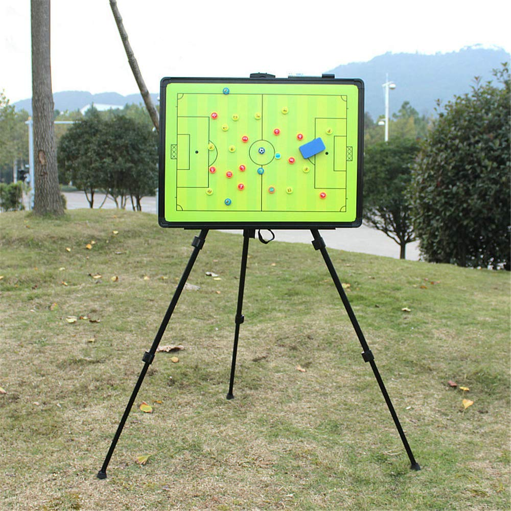 Magnetic board with tripod