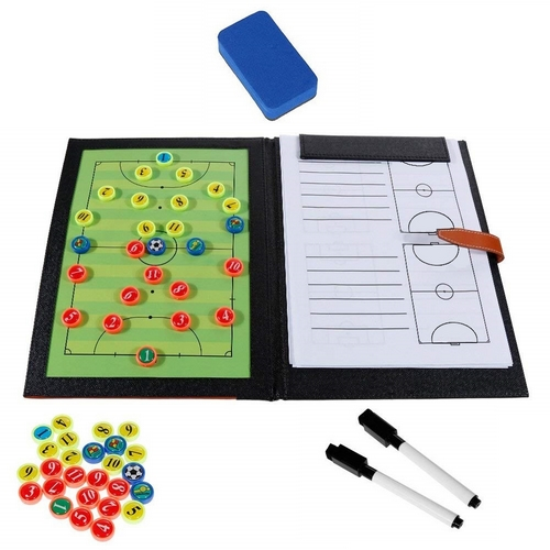 Magnetic Coach Board in Leather