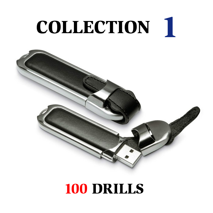 Collection 1 - 100 drills Roller Hockey